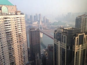 View of Chongqing