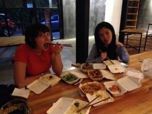 Pre-gig Noodles, Kunming